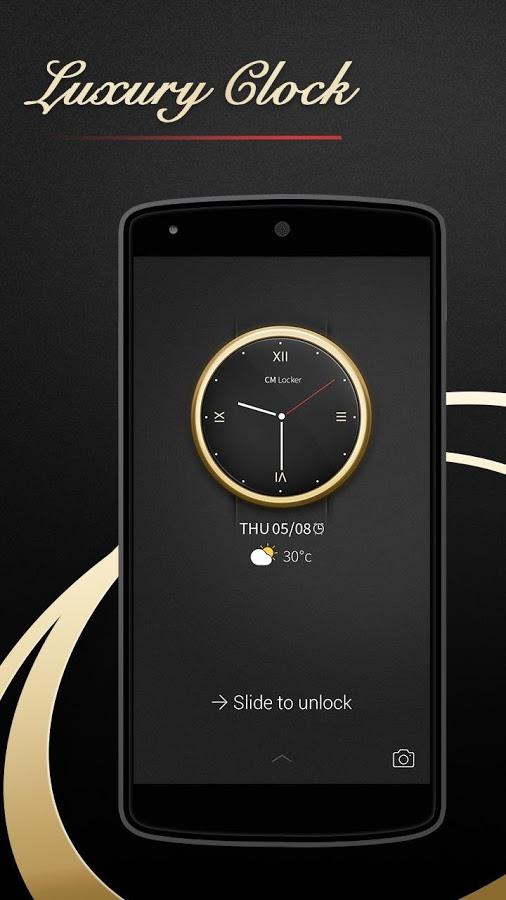 Luxury Clock İndir - Android için Ekran Koruyucu Lüks Saat ...