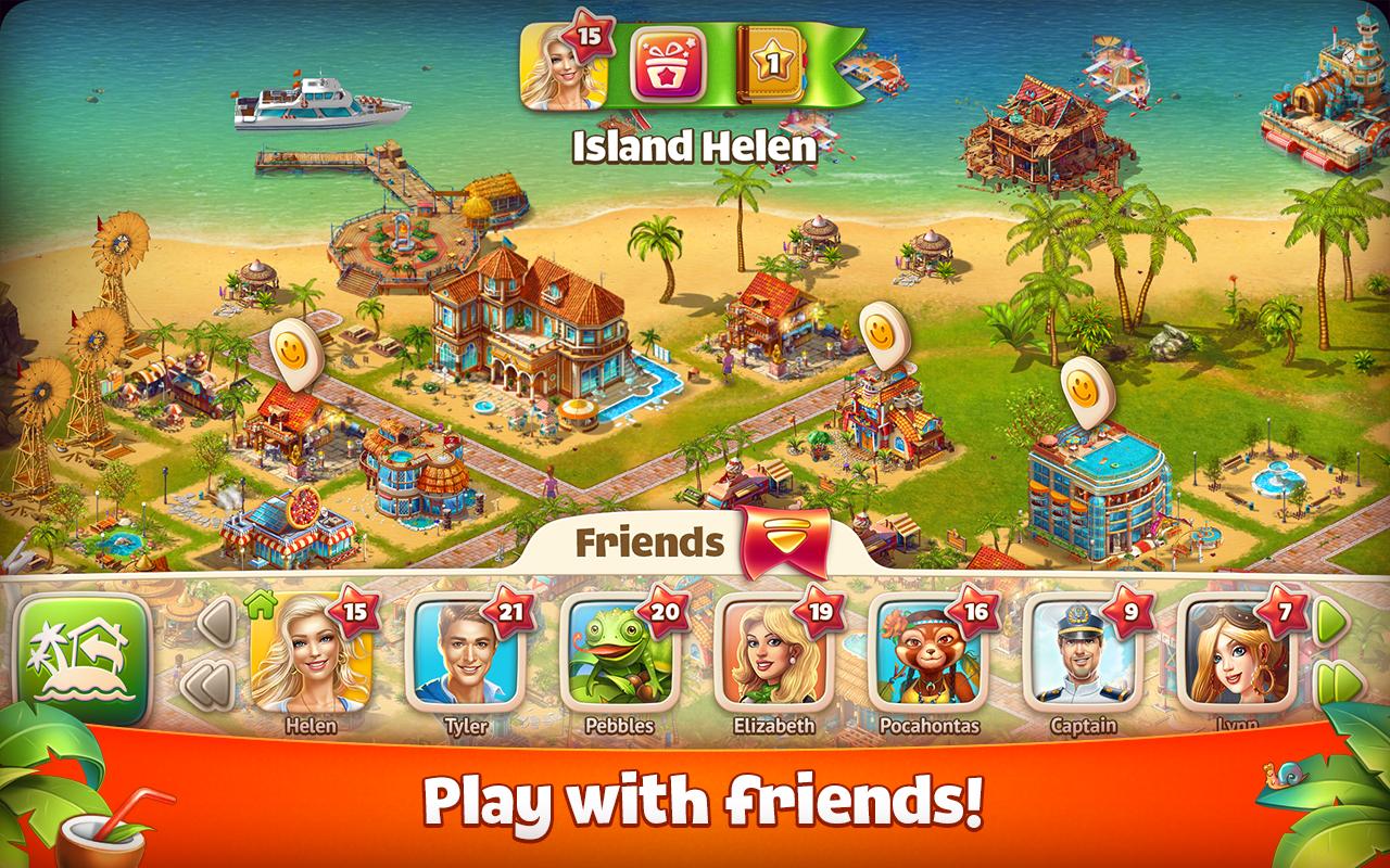 Paradise Island 3. 1. 1 - بازی جزیره بهشتی اندروید دیتا