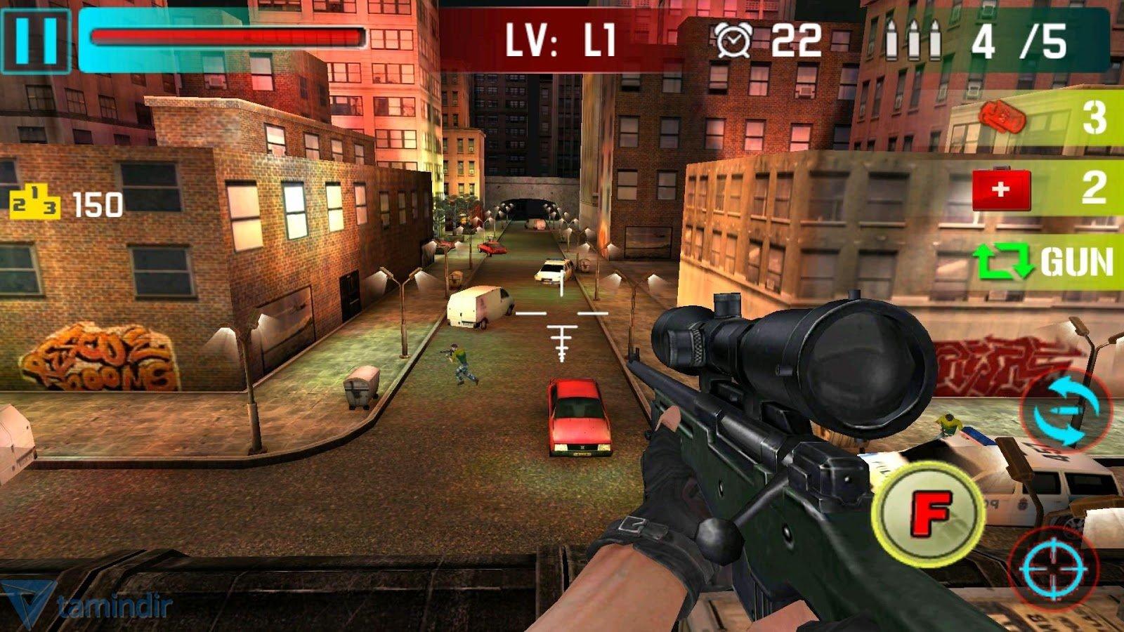 Game online gratis sniper 3d
