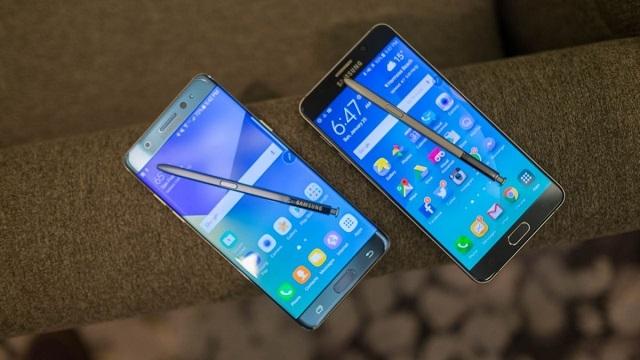 Samsung Galaxy Note 7 ve S7 Edge Karşılaştırma