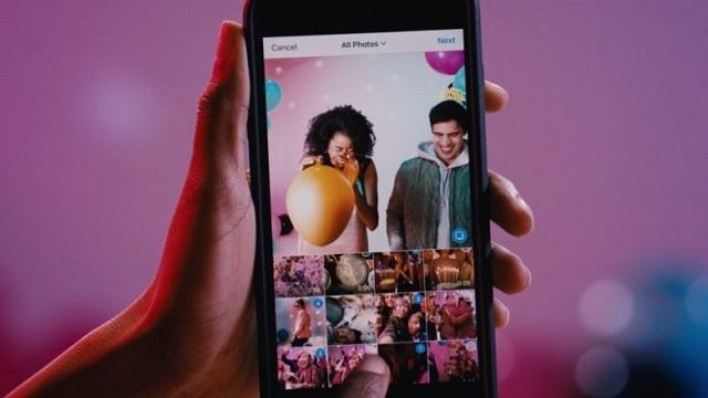 Instagram Albüm Oluşturma, Çoklu Fotoğraf Yükleme