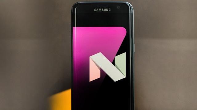 Samsung Android 7.0 Nougat Güncellemesi Geldi