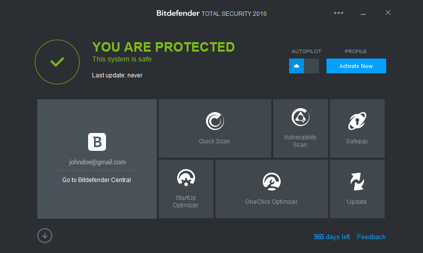 Bitdefender total security 2016 30 years crack till 2045 free download