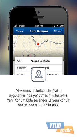 turkcell konum bulma