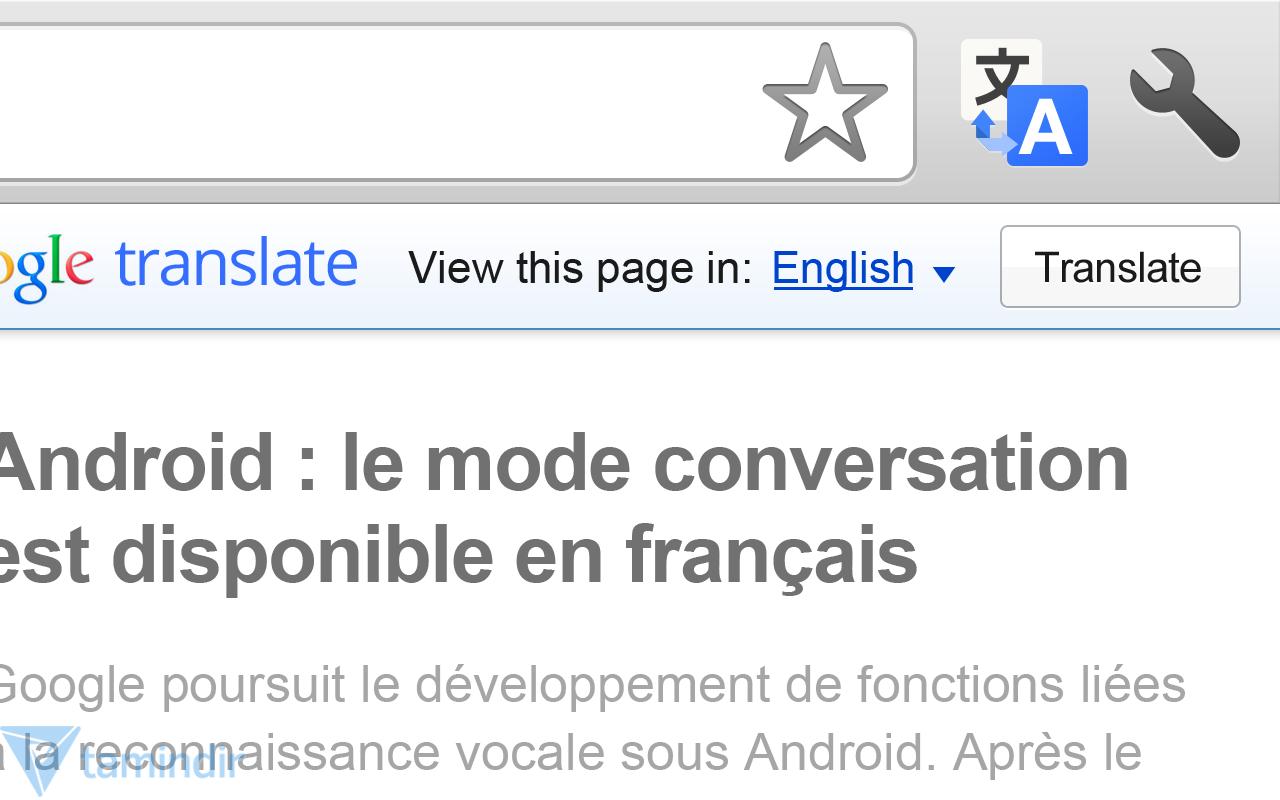 Google Translate İndir - Chrome için Google Çeviri Eklentisi - Tamindir