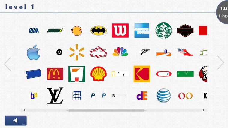 Угадай логотип по картинке