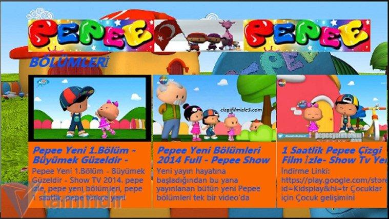 Pepee Tv Indir Windows 8 1 Icin Pepee Cizgil Film Izleme