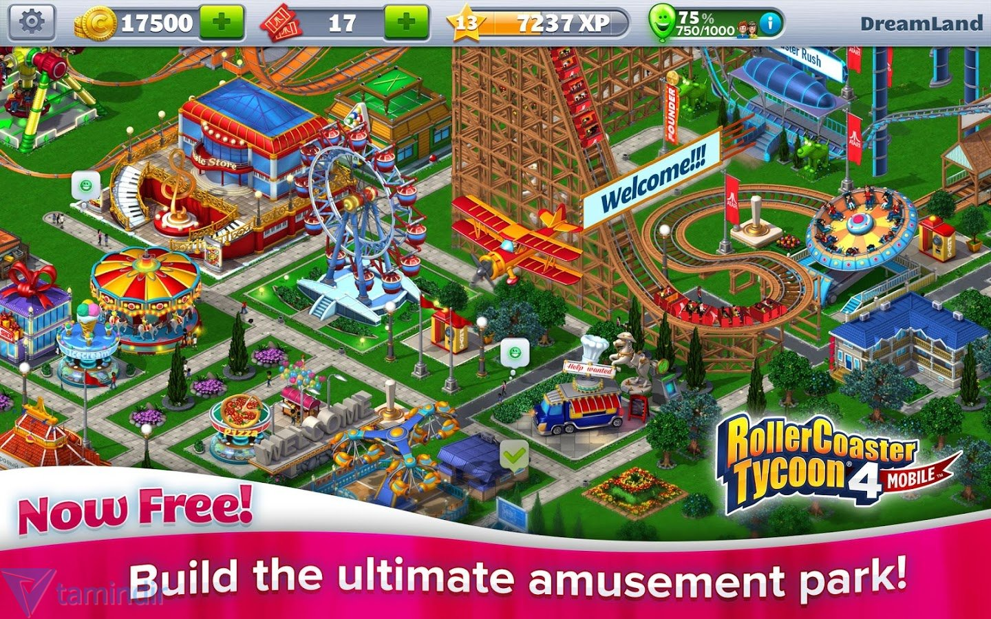 how to play roller coaster tycoon on mac for free