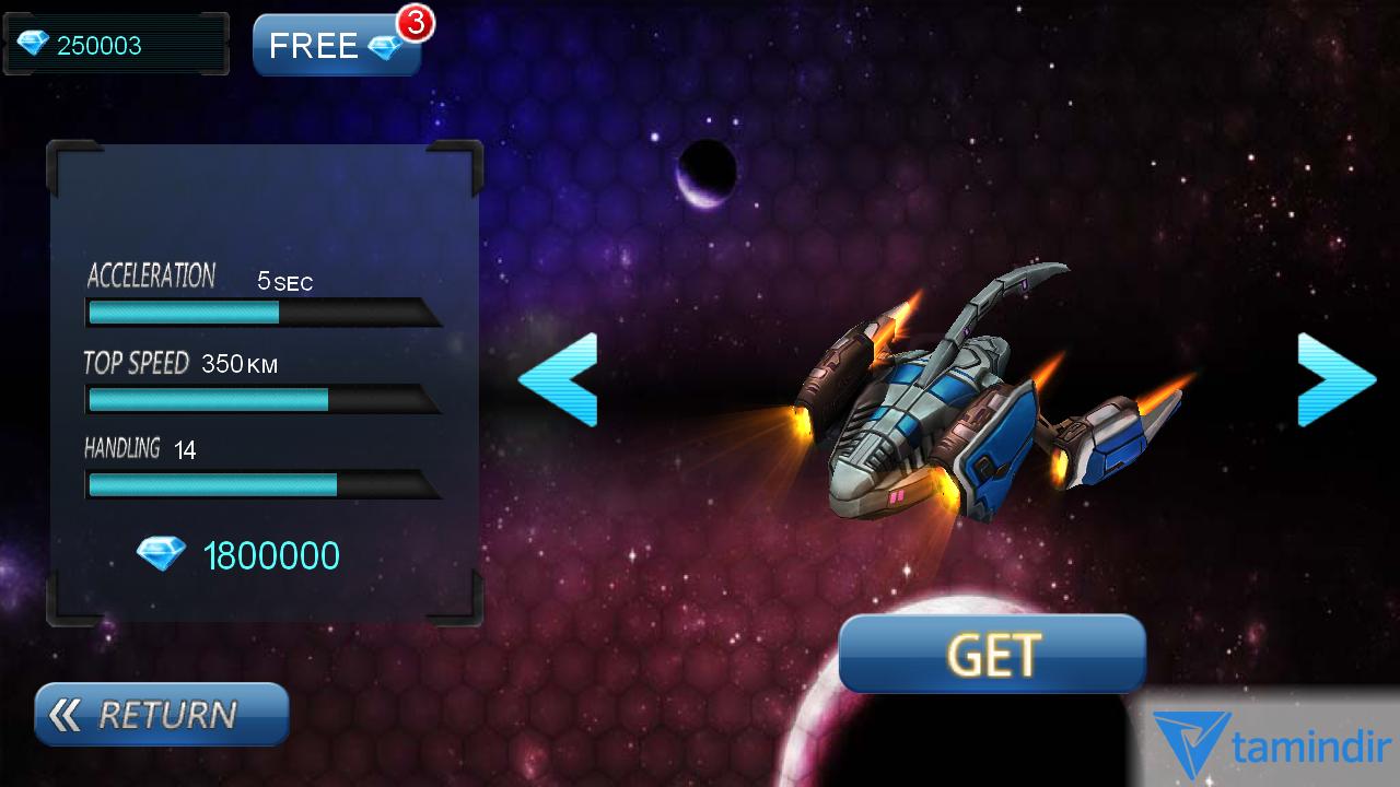 Space Racing 3d Indir Android Icin 3 Boyutlu Uzay Yarisi Oyunu