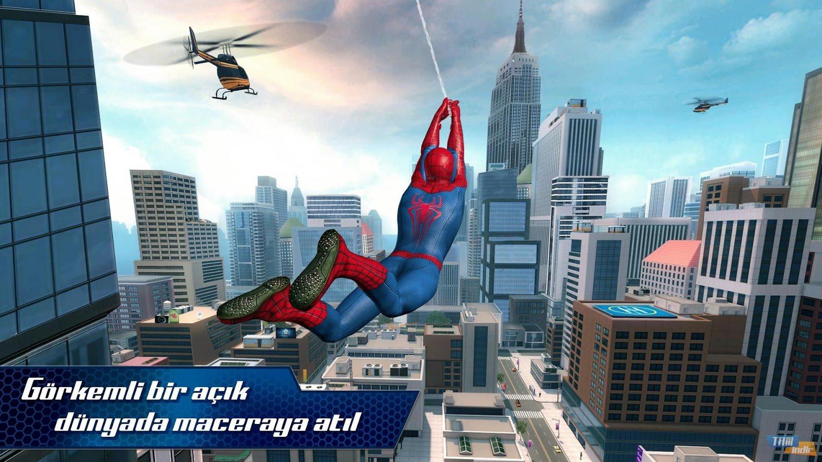 Новый человек-паук игра