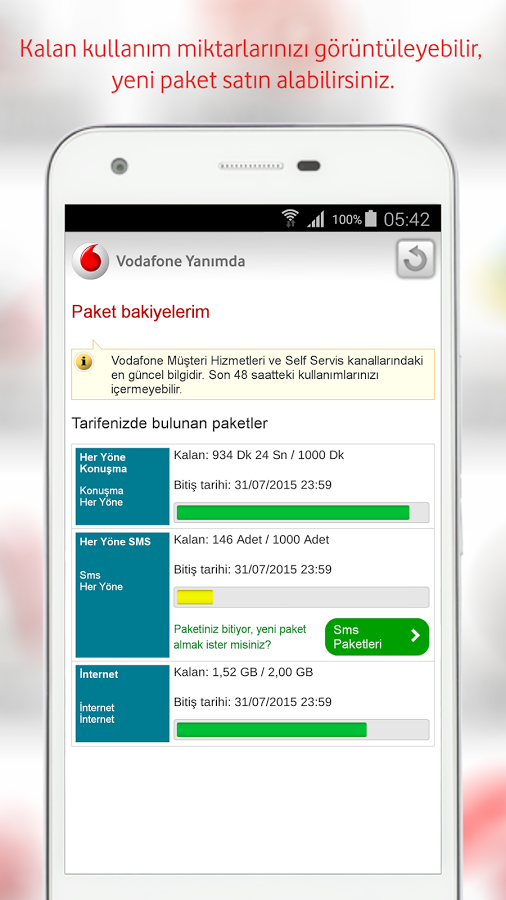 Vodafone Hat Dokümanı Nasıl Çıkartılır?