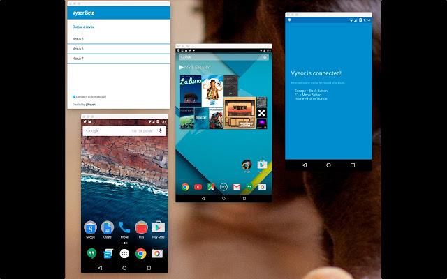 Vysor İndir - Android Cihazı Bilgisayardan Yönetme Eklentisi