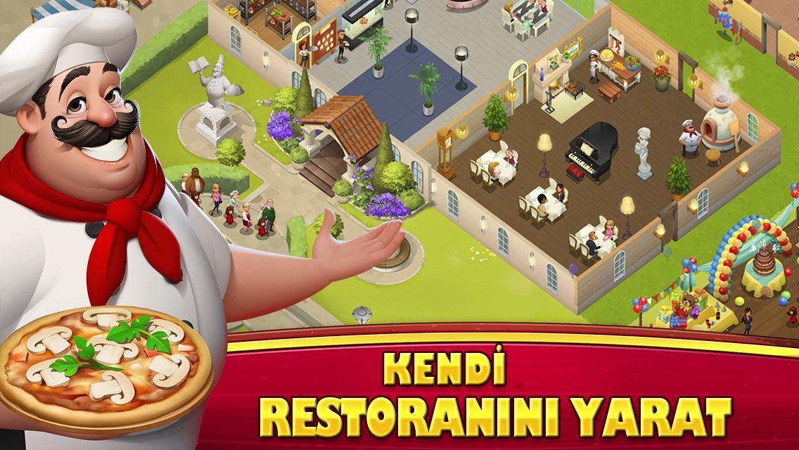 World chef İndir android için restoran İşletme oyunu