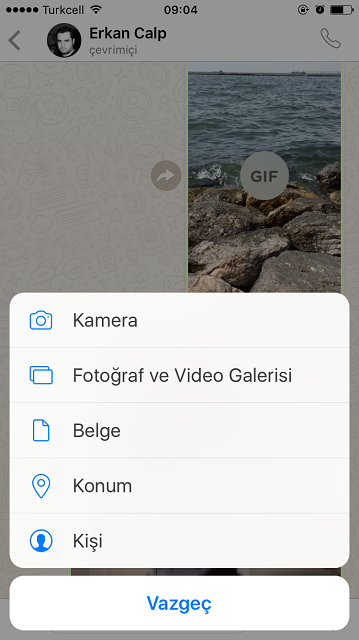 WhatsApp GİF Gönderme Nasıl Yapılır ? – WhatsApp GİF Gönderme