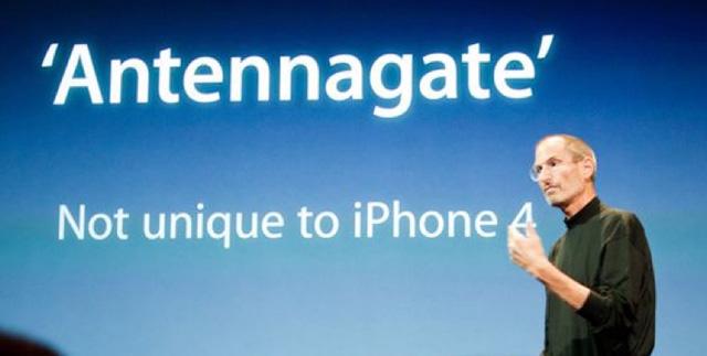 Apple'dan Anten skandalı
