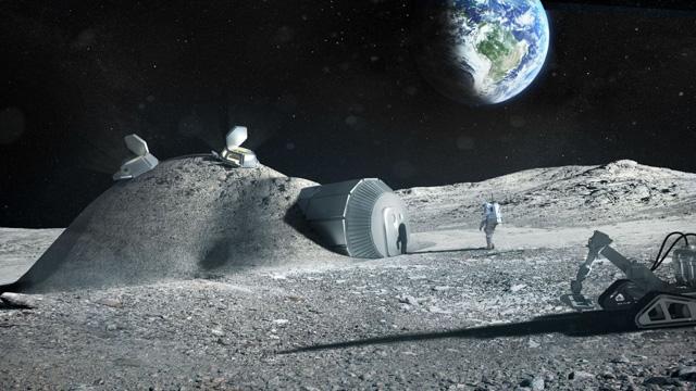 Amerikalılar Mars'a, Avrupalılar Ay'a Kentler Kurma Yarışına Girdiler