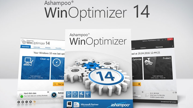 Ashampoo WinOptimizer 14 Çıktı