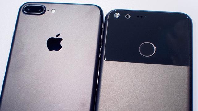 iPhone 7 plus vs Google Pixel XL karşılaştırma