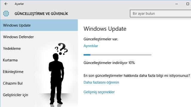 Windows 10 Otomatik Güncellemeleri Nasıl Kapatılır ya da Devre Dışı Bırakılır?