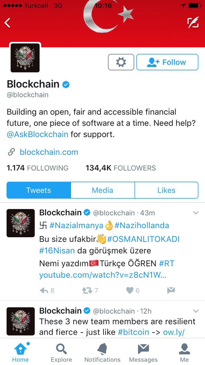 Türkiye, Hollanda Twitter Hesaplarını Hackledi