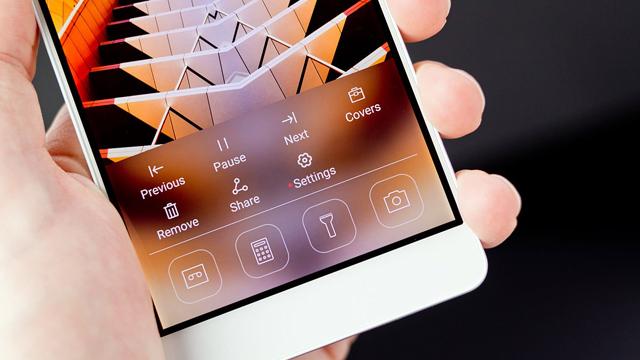 Huawei Honor 7 ekranı