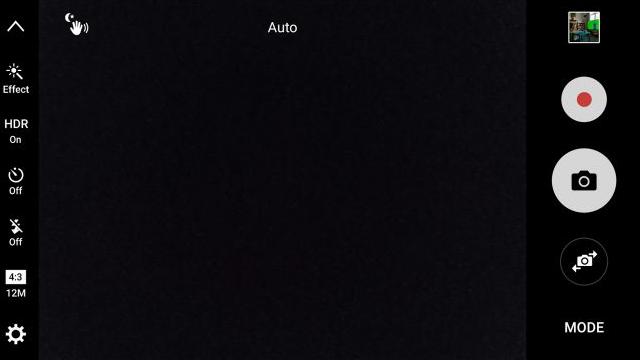 TouchWiz kamera