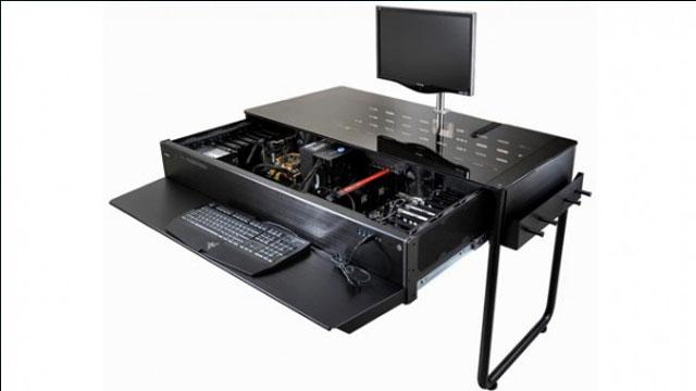 Lian li bilgisayar masas sadece masa de il tek ba na for Escritorio para pc