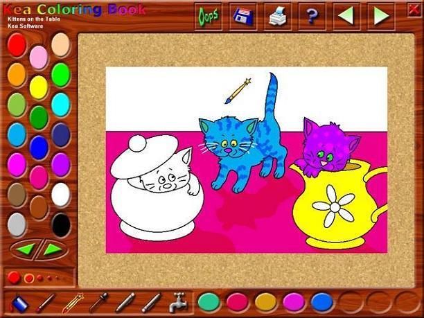 Kea Coloring Book Indir çocuklar Için Sanal Boyama Kitabı Tamindir