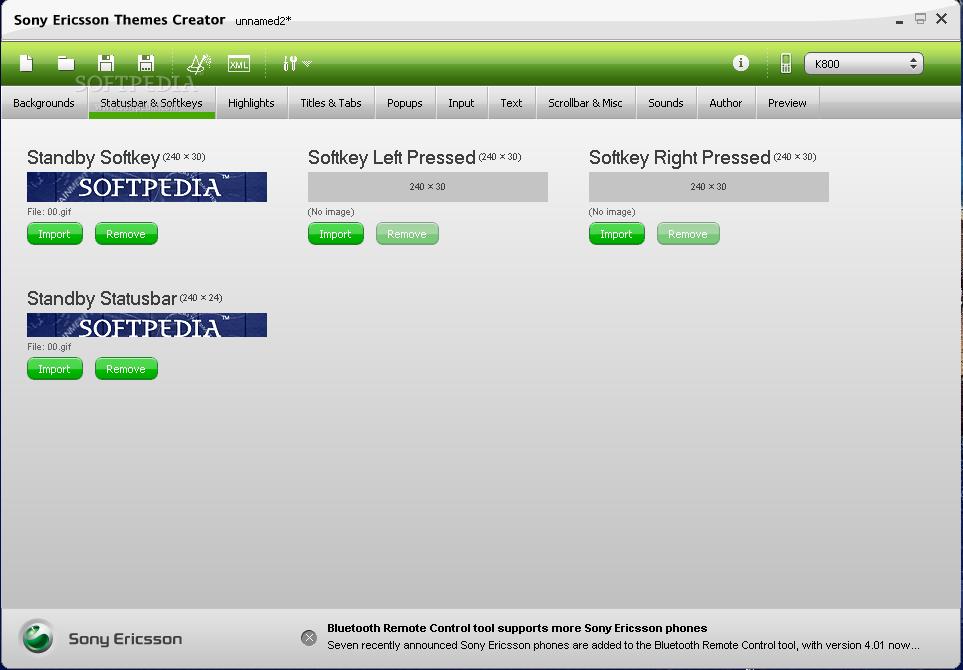 Sony Ericsson Tema Yaratıcı İndir