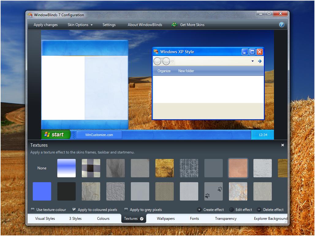 WindowBlinds Ekran Görüntüleri
