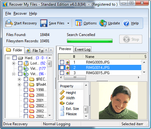 Recover My Files Ekran Görüntüsü