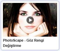 Photoscape Göz Rengi Değiştirme