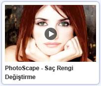 Photoscape Saç Rengi Değiştirme