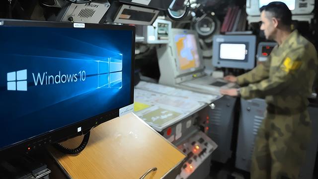 amerikan ordusu windows 10a geçti