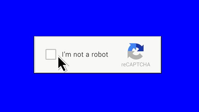 google captcha görünmez oldu