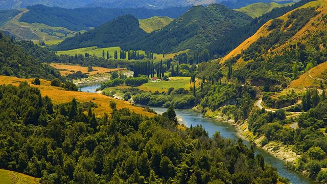 Whanganui nehri insan sayılacak haberi
