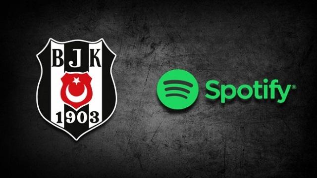 Spotify ve Beşiktaş iş birliği yaptı