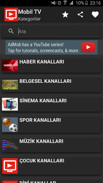 The description of Canlı Tv - Mobil Canlı Tv izle