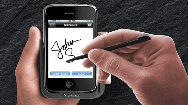 mobil imza nasıl alınır