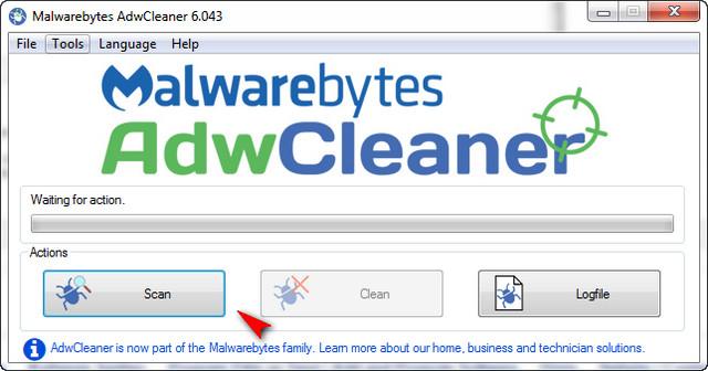 adwcleaner ile temizlik