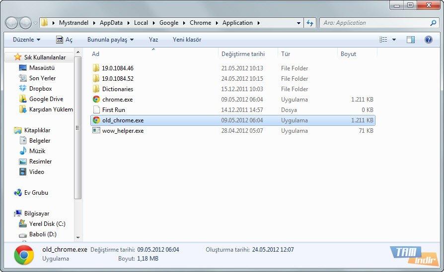 Chrome V9 Kaldırma 2