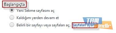 Chrome için Anasayfa Değiştirme 2
