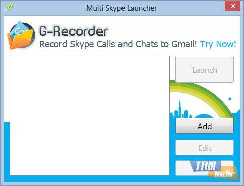 Çoklu Skype Açma
