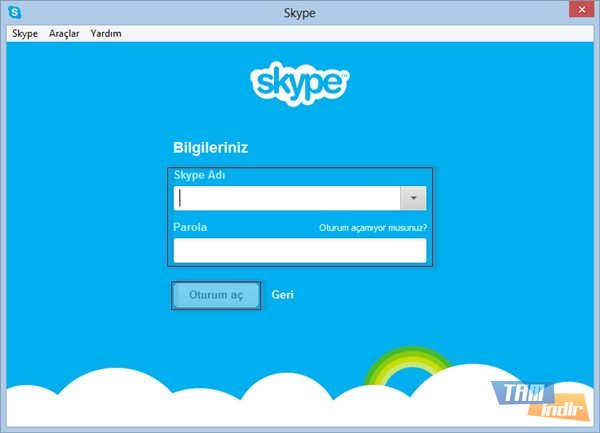 Skype Oturum Açma