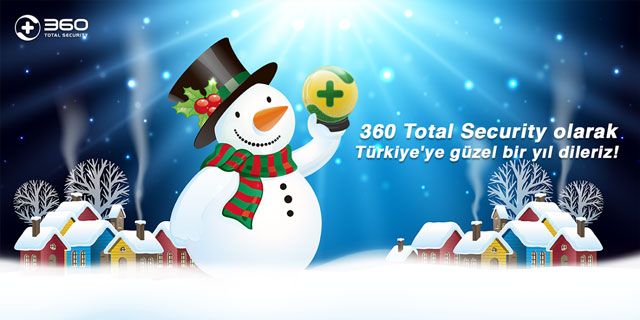 360 Total Security Mutlu Yıllar Diler