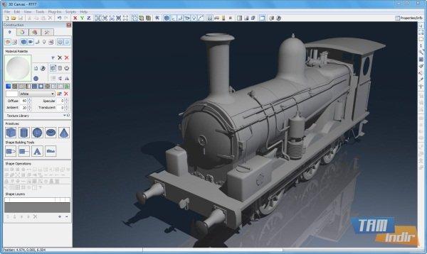 3dcrafter ndir 3d modelleme ve animasyon program 3d modelleme