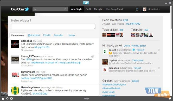 Social for twittertwitter hesap ekrani665x390