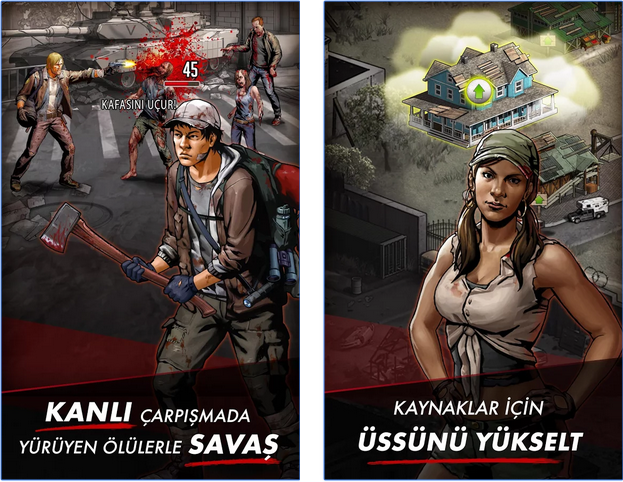 walking dead ios android