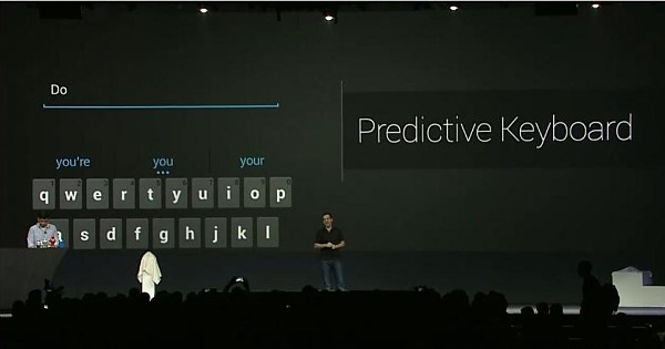 Android JB klavye