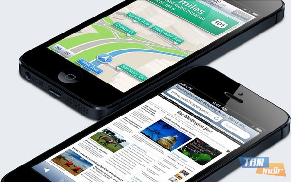iPhone 5 ekran